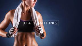 减肥运动健身主题模板动画PPT最新模板
