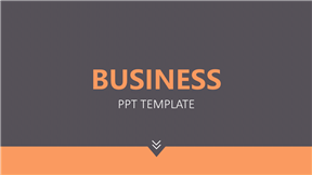 简约扁平化商务通用模板定制动画PPT模板