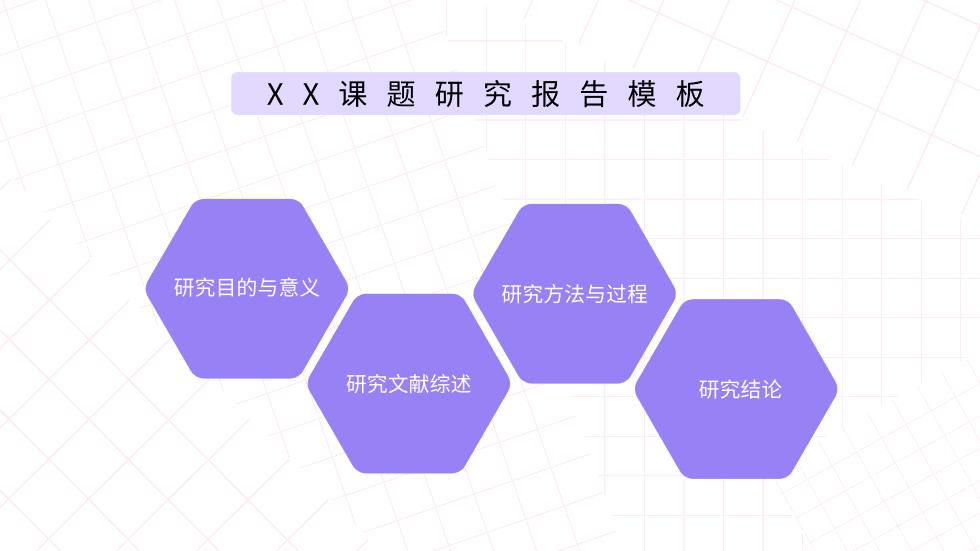 课题研究PPT模板动画PPT套用模板