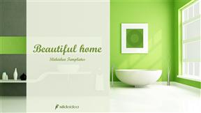 家居室内装修模板如何设计动画PPT模板