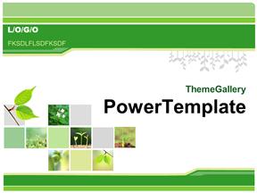 能源开发环境保护生态建设幻灯片模板免费