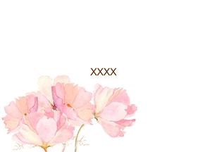 粉色仙女教育教学课件简单动画PPT模板